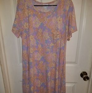 LuLaRoe XL Carly Dress...Perfect condition
